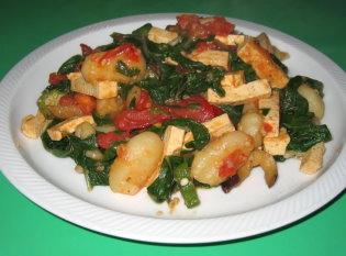 Garlic Gnocchi