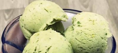 Vegan Ice Cream with Pistachio