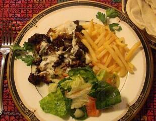 Fried Cauliflower with Tahini Sauce