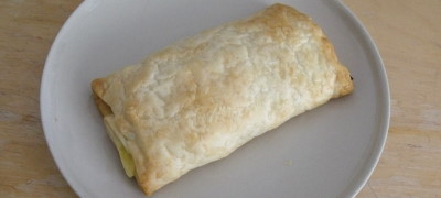 Cheese and Marmite Pasty