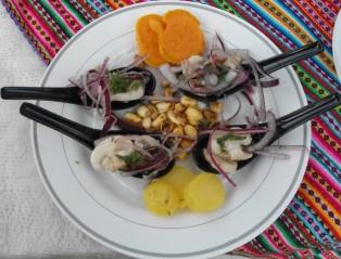 Mushroom Cebiche, Peruvian style
