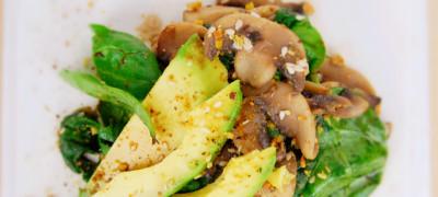 Winter Mushroom Salad