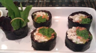 Fresh Veggies Nori Rolls
