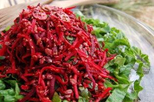 Sesame Beet Salad