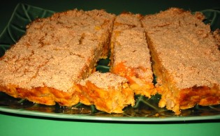 Sweet Potato n' Pumpkin Polenta Bake