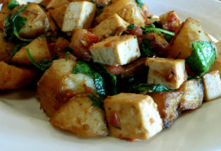 Tofu and Veggies Stir Fry