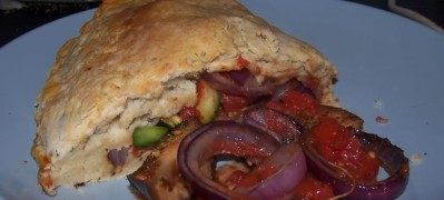 Vegetable Calzone