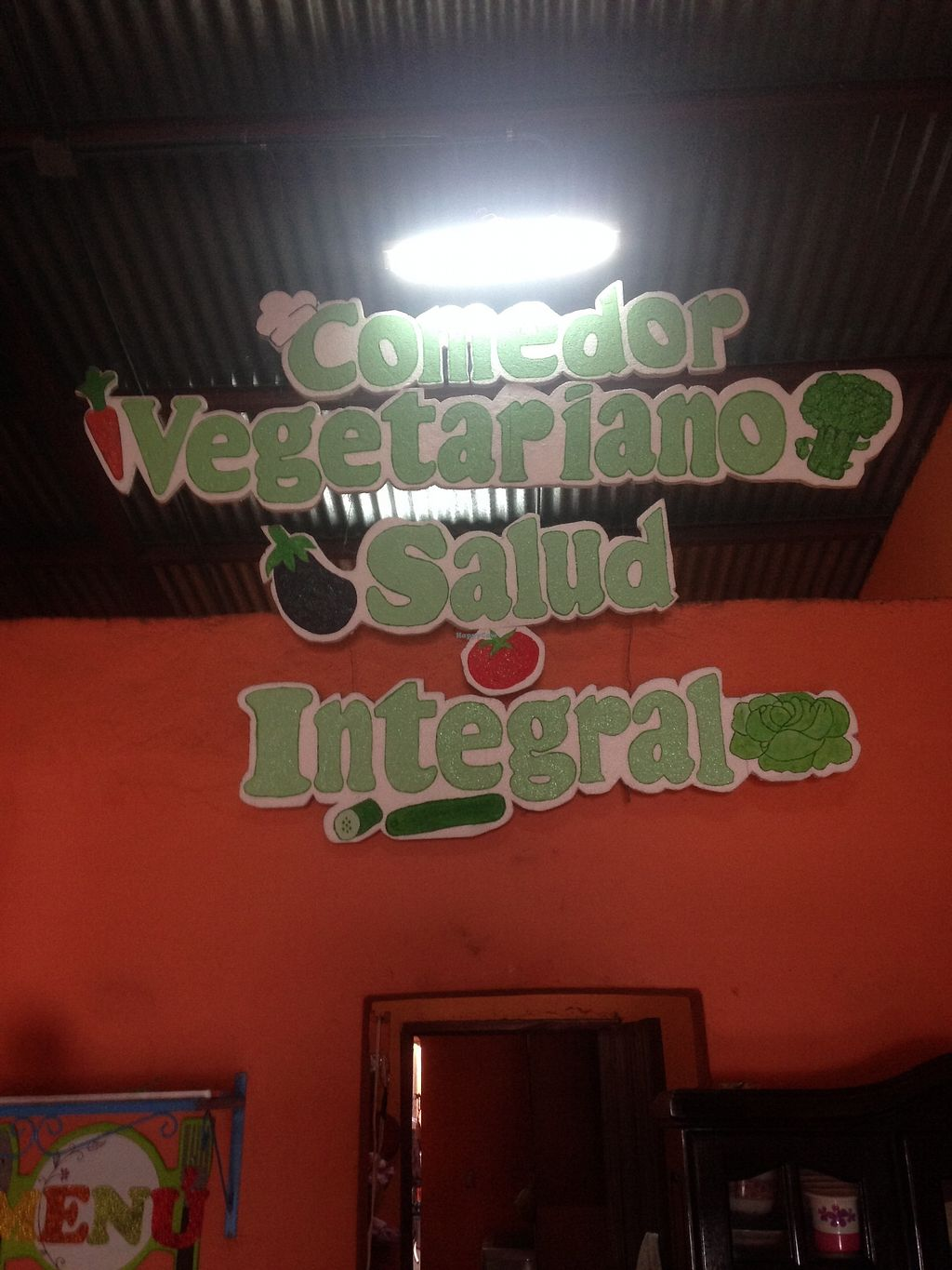 "Photo of Comedor Vegetariano Salud Integral  by <a href=""/members/profile/Stubler"" class=""title__title"" title=""Profile of member Stubler"">Stubler</a> <br/>Really friendly and welcoming hosts <br/> October 15, 2017  - <a href='/contact/abuse/image/102923/315514'>Report</a>"