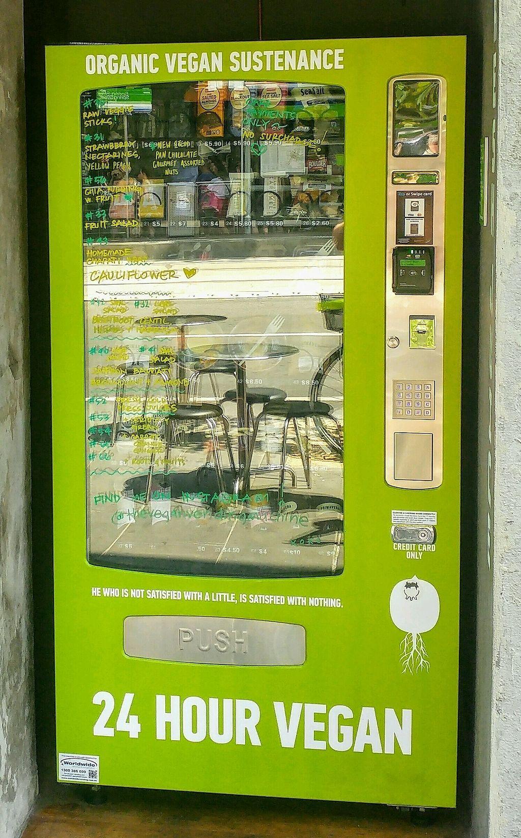 Vegan vending machine melbourne