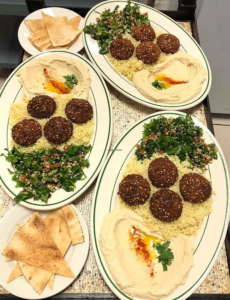 """Photo of Lebanese Bistro Mediterranean Grill  by <a href=""""/members/profile/AlejandraSaenz"""" class=""""title__title"""" title=""""Profile of member AlejandraSaenz"""">AlejandraSaenz</a> <br/>In love with the vegan option here!  <br/> September 30, 2018  - <a href='/contact/abuse/image/136354/474075'>Report</a>"""