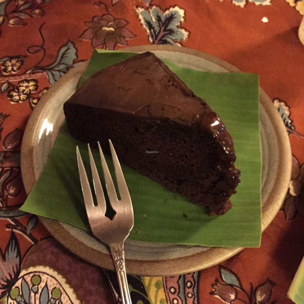 """Photo of Art in Chai  by <a href=""""/members/profile/mermaidsrok"""" class=""""title__title"""" title=""""Profile of member mermaidsrok"""">mermaidsrok</a> <br/>chocolate cake (vegan) <br/> July 8, 2016  - <a href='/contact/abuse/image/50171/158438'>Report</a>"""