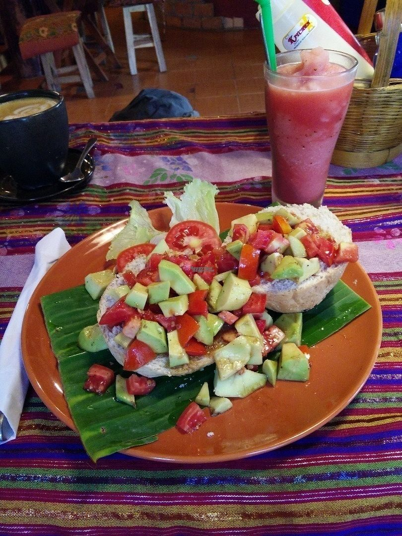 """Photo of Art in Chai  by <a href=""""/members/profile/MorganeBe"""" class=""""title__title"""" title=""""Profile of member MorganeBe"""">MorganeBe</a> <br/>Avocado and tomato """"roll""""  <br/> September 15, 2016  - <a href='/contact/abuse/image/50171/175820'>Report</a>"""